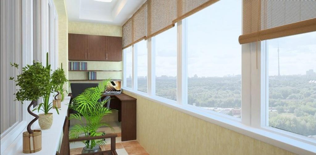 Тёплое остекление балконов - особенности и преимущества.