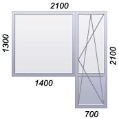 Цены на пластиковые окна в 5-эт панельный дом (хрущевка).